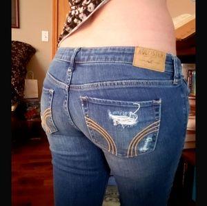 EUC Hollister Jeans 26 27 5 4